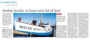 Artikel Leeuwarder Courant